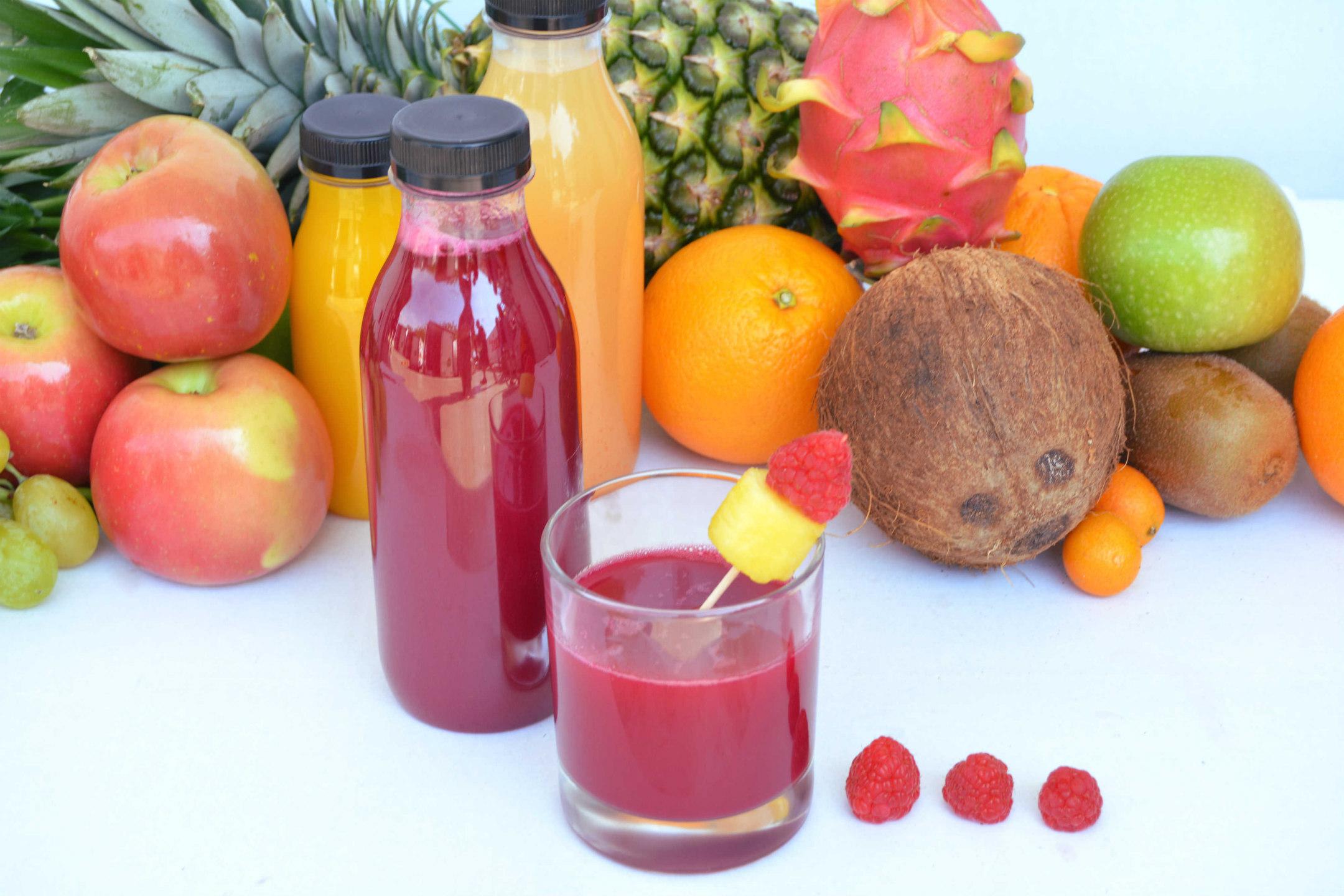 zumo natural combinaciones frutas